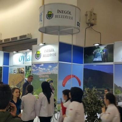 İnegöl'ün Turizm Değerleri Travel Expo'da Görücüye Çıktı