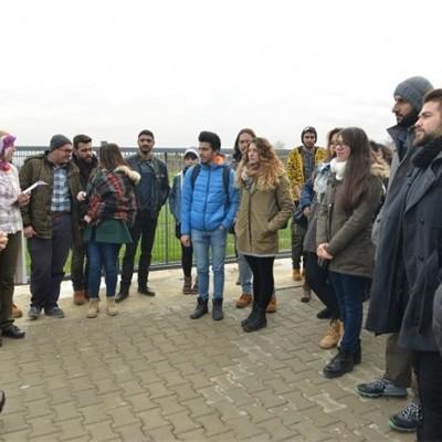 Anadolu Üniversitesi Havacılık ve Uzay Bilimleri Fakültesi Öğrencileri, Doğa Sporları ve Turizm Merkezi (DOSTUM) ile Kent Müzesini ziyaret etti