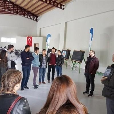 Üniversite öğrencileri Dostum'u ziyaret etti